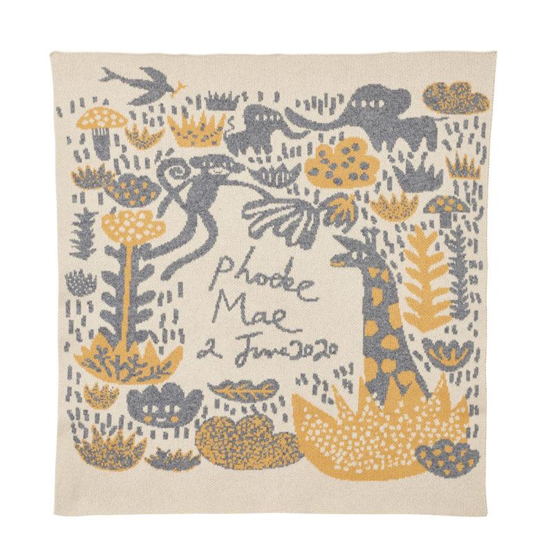 Bespoke Menagerie Baby Blanket - Donna Wilson