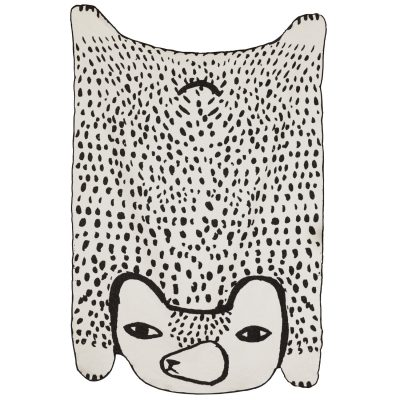 Bear Shaped Cotton Throw - Donna Wilson