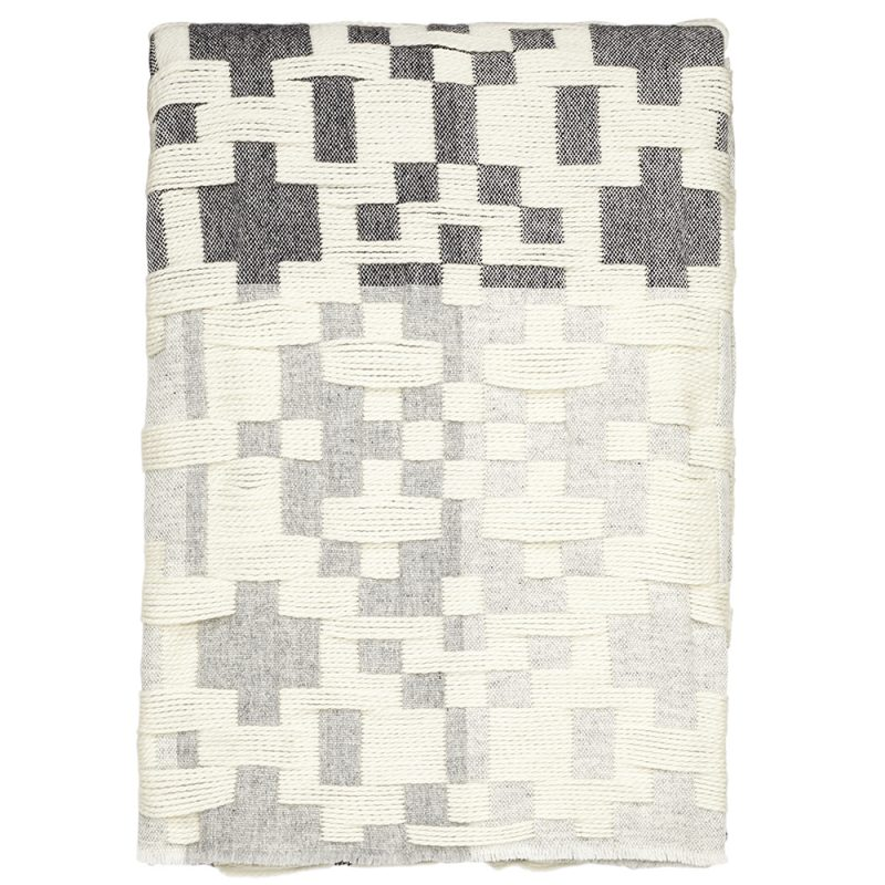 Donna Wilson Pennan Throw Black White
