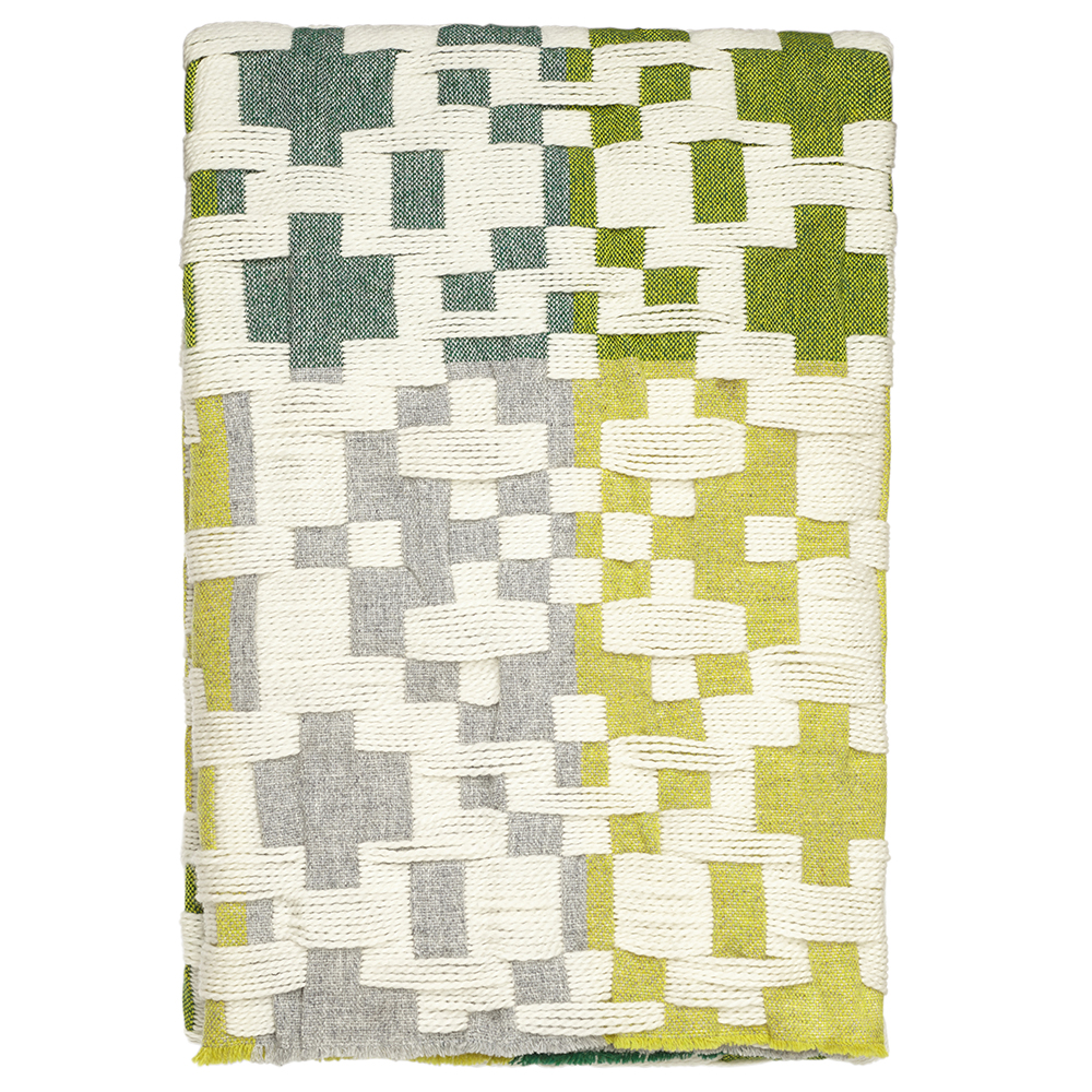 Donna Wilson Pennan Throw Green Yellow