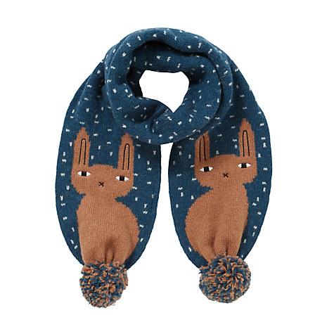 Bunny Scarf_Navy