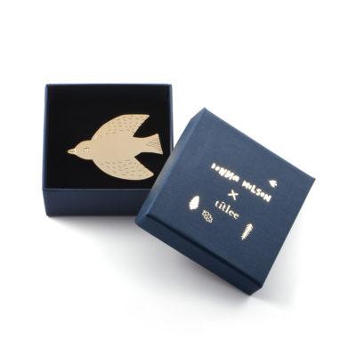 Bird Brooch - Titlee x Donna Wilson