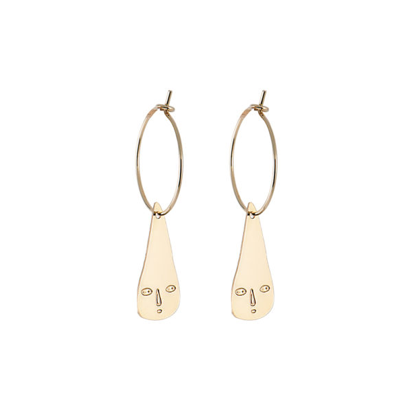 Rain Drop Hoop Earrings - Titlee x Donna Wilson