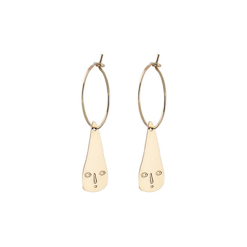 Rain Drop Hoop Earrings - Titlee x Donna Wilson