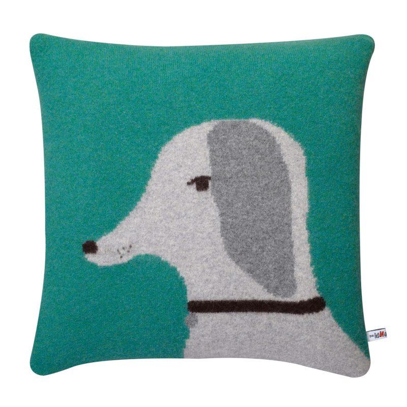 Donna Wilson Dog Cushion Jade