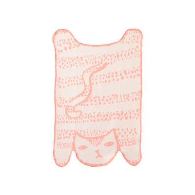 Cat Cotton Mini Blanket - Donna Wilson