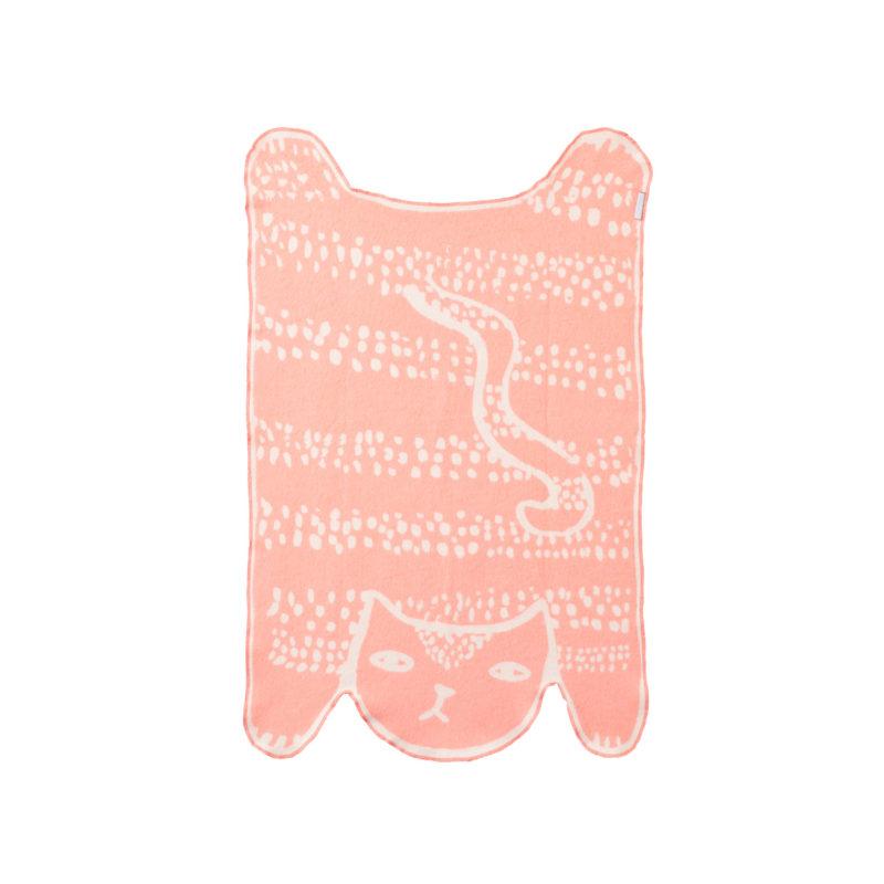 Cat Cotton Mini Blanket - Reverse - Donna Wilson.jpg