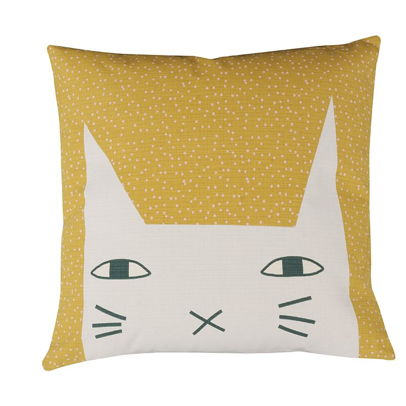 Donna Wilson Cat Ears Cushion Front