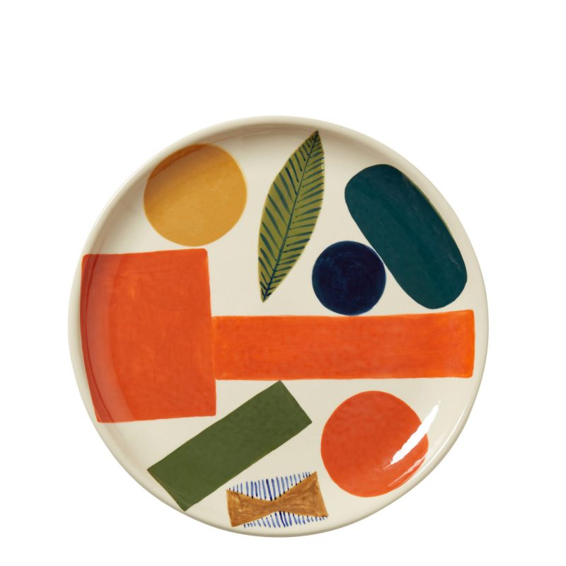 Autumn Leaf Dinner Plate - Donna Wilson