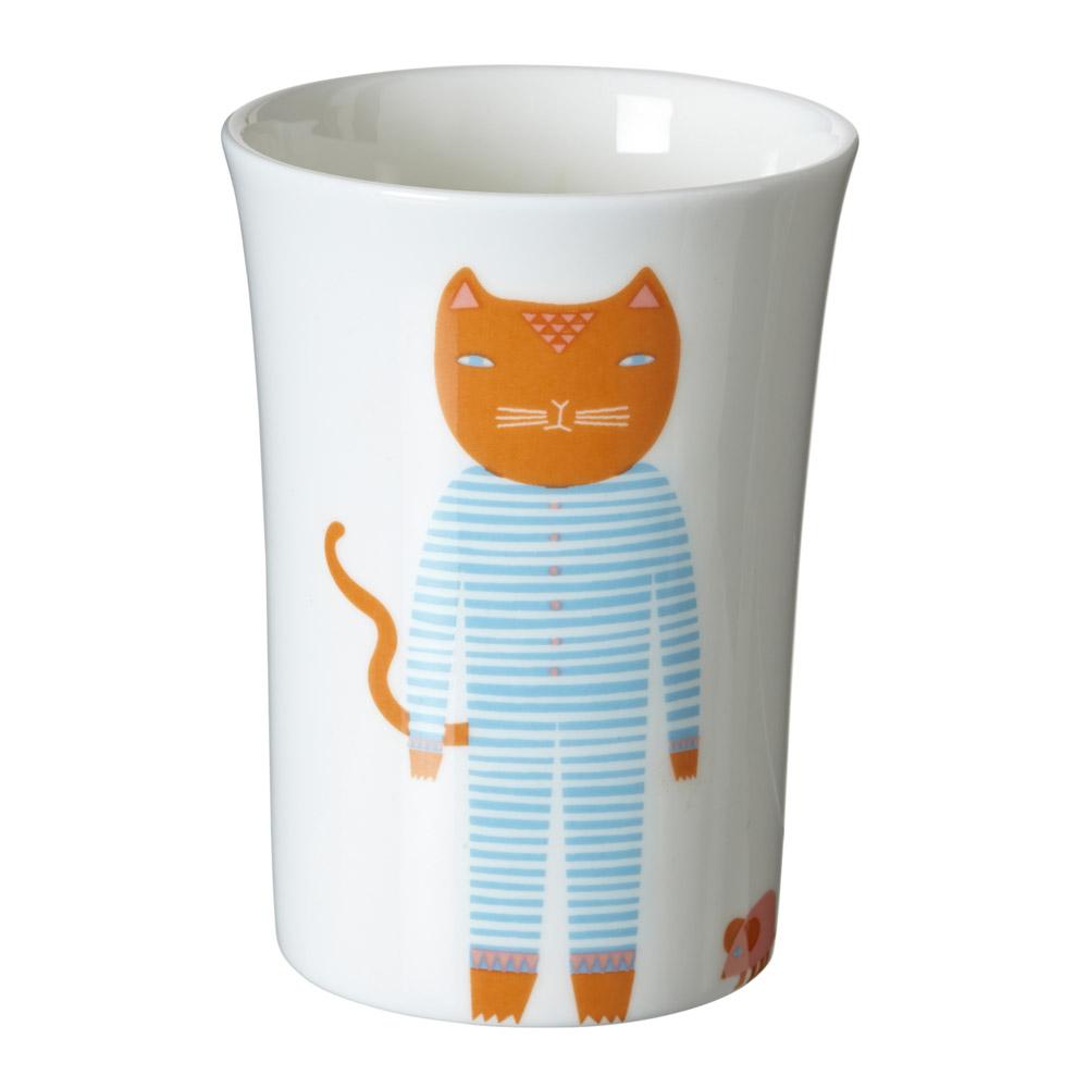 Cats Pyjamas Beaker Donna Wilson