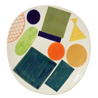 Block + Line Platter - Donna Wilson