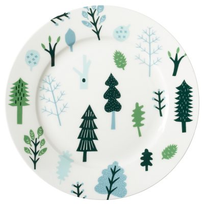 Forest Dinner Plate by Donna Wilson