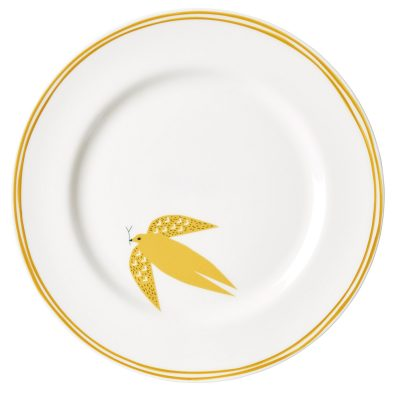 Ceramics - Dove and Line Dinner Plate