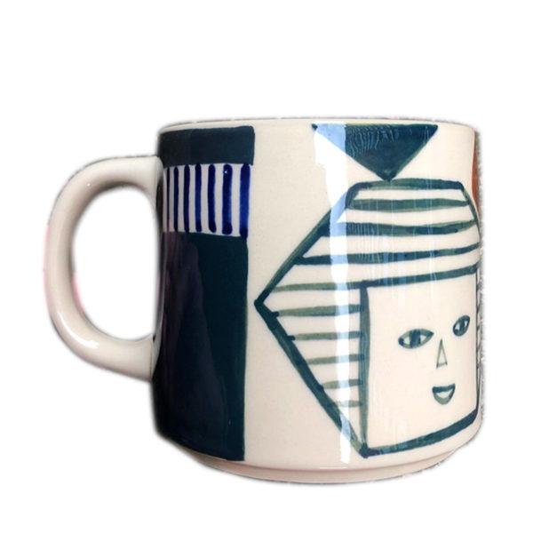 Kaleido Mug - Front - Donna Wilson