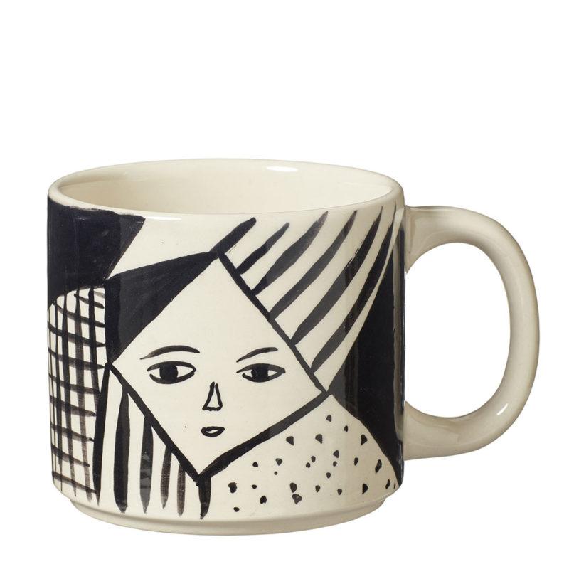 Mono Mug -Front - Donna Wilson