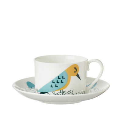 Nest Cup & Saucer - Front - Donna Wilson