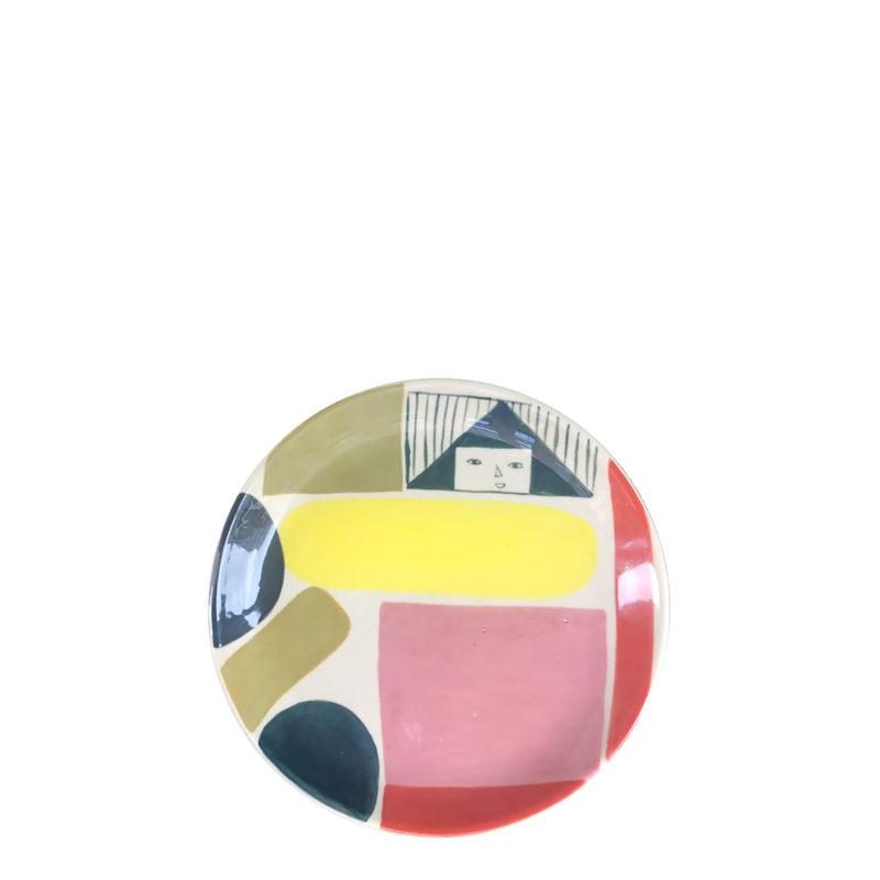 Ceramics - Prism Side Plate - Donna Wilson_recolour