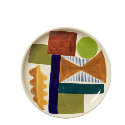 Spring Oak Dinner Plate - Donna Wilson
