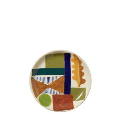 Spring Oak Side Plate - Donna Wilson