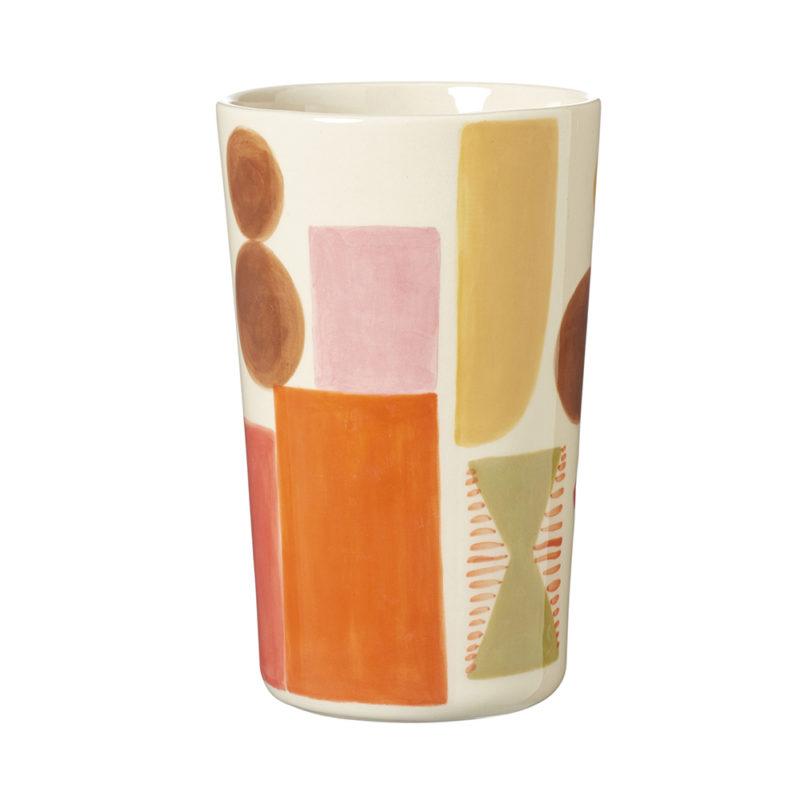 Ceramics - Sweet Treats Stoneware Vase - Back - Donna Wilson