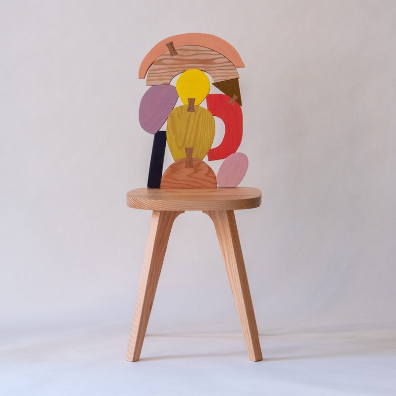 Abstract Assembly - chair no 3 - Donna Wilson