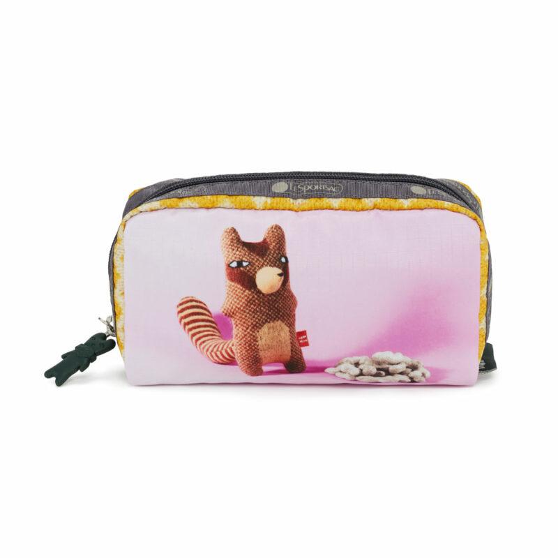 Le Sportsac x Donna Wilson Cosmetic Bag - Cheeky Chipmunk
