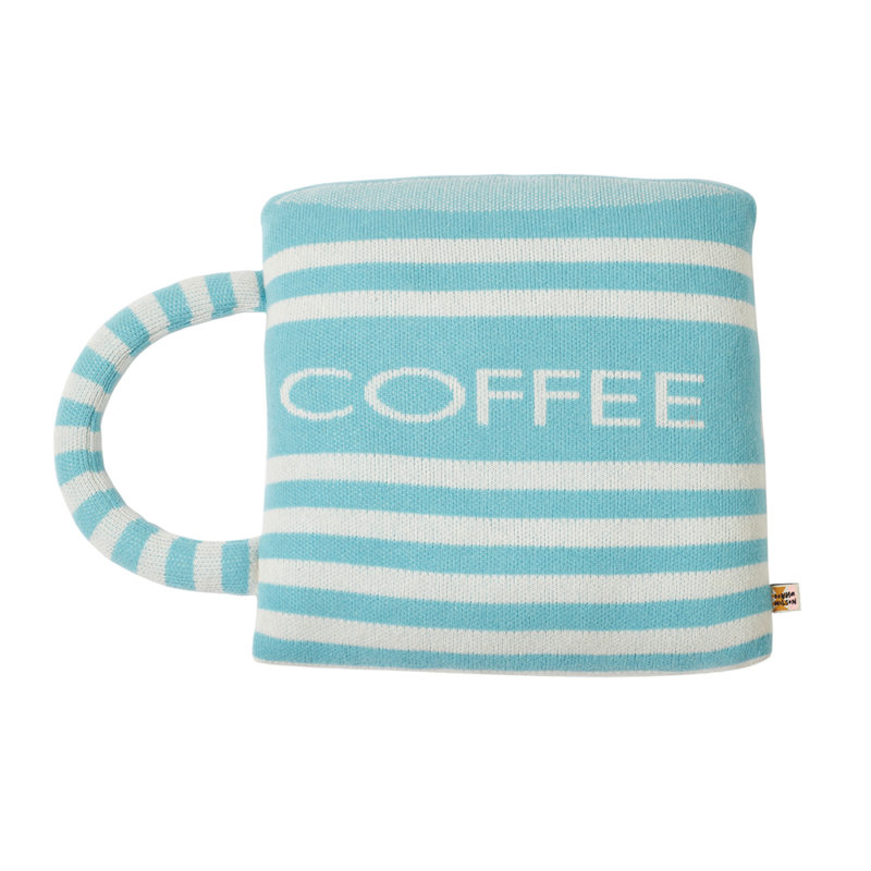 Coffee Cup Shaped Cushion - Donna Wilson