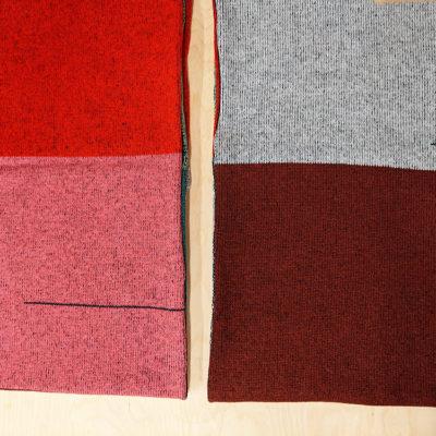 Colour Block Scarf - Slight Seconds