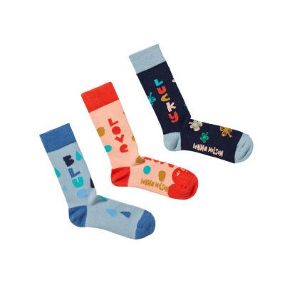 Colourful Sock Trio 2021 - Donna Wilson
