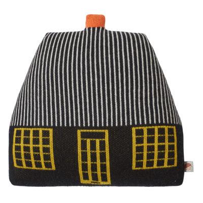 Cottage Cushion - Black - Donna Wilson