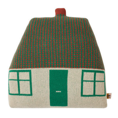 Cottage Cushion - Green - Donna Wilson