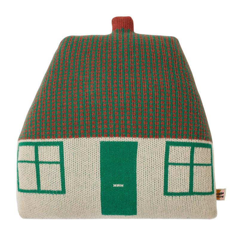 Cottage Cushion - Green - Donna Wilson