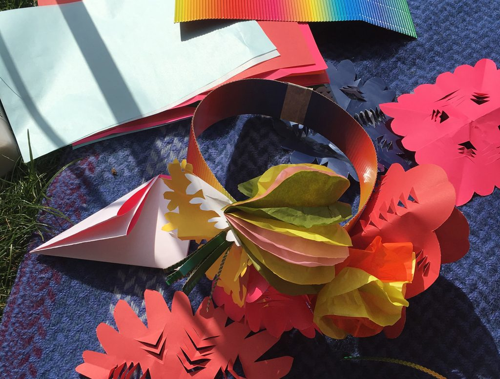 Make Your Own Flower Paper Crown MYO Donna Wilson_1