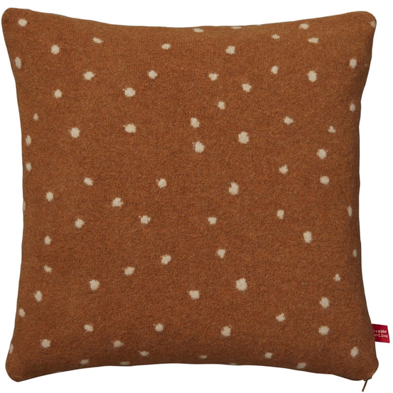 Cushion - Dotty Cushion - Gold