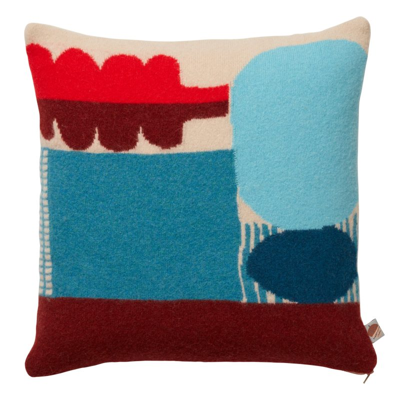 Koyo Cushion - Blue - Donna Wilson