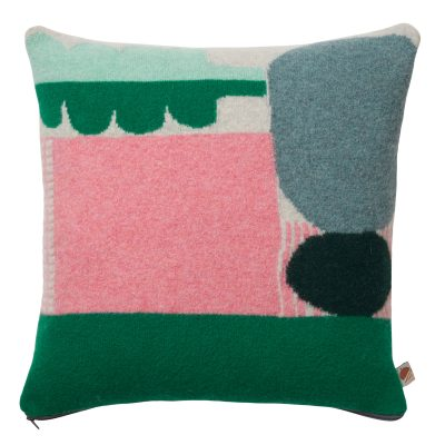 Koyo Cushion - Green - Donna Wilson