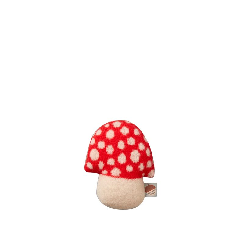 Mushroom Shaped Mini - Red - Donna Wilson