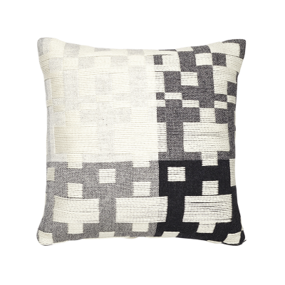 Donna Wilson Pennan Cushion Black White