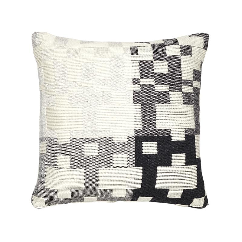 Donna Wilson Pennan Cushion Black White