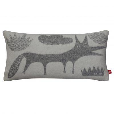 Cushion - Wolf Long Cushion - Grey