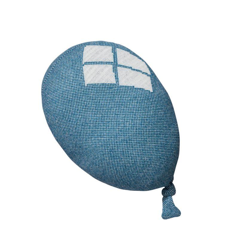Donna Wilson - Round Balloon Cushion - Blue