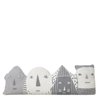Faces Bolster Cushion - Donna Wilson