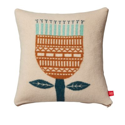 Donna Wilson Flower Cushion Oatmeal