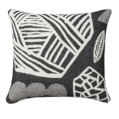 Forager Cushion Black - Front - Donna Wilson
