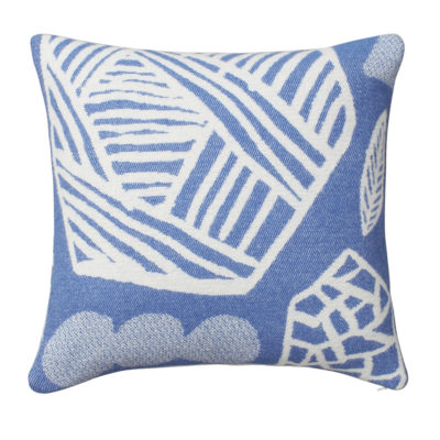 Forager Cushion Blue - Front - Donna Wilson