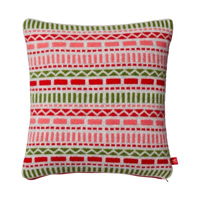 Donna Wilson Geometric Cushion Pink