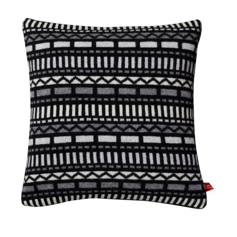 Donna Wilson Geometric Cushion Black