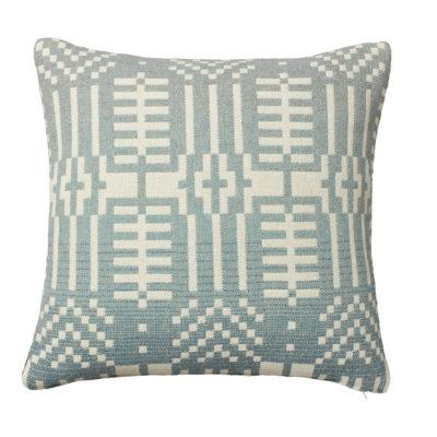 Cushion - Here Comes the Rain Cushion - Back - Donna Wilson