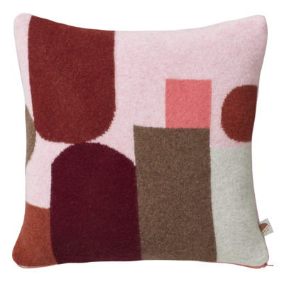 Hue Cushion - Pink - Donna Wilson