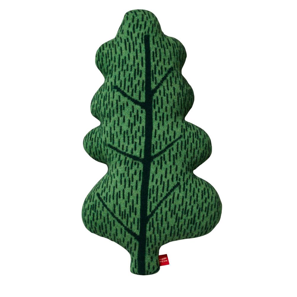 Donna Wilson Leaf Cushion Green